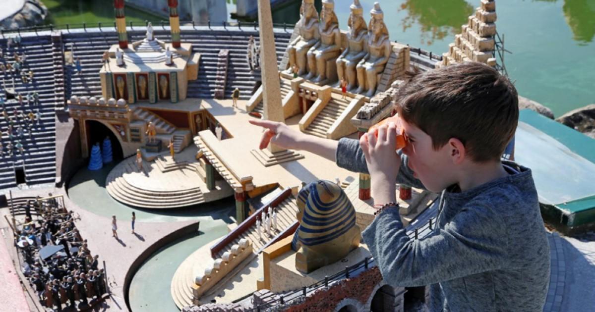 Cartina Dell Italia In Miniatura.Italia In Miniatura Il Parco Tematico Delle Miniature Del Divertimento E Della Didattica A Rimini